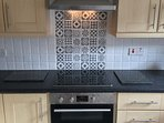 Spacious, fully equipped, modern kitchen. Twin oven, dishwasher, microwave etc.