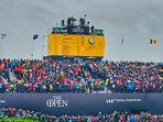 The 18th hole at 148th Open - Royal Portrush, by local artist and available to purchase