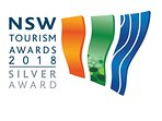 NSW Tourism SILVER award winner in luxury accommodation.