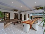 The dining table is a perfect place for your group to enjoy their time together