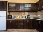 Ground floor: open plan kitchen, fully equipped
