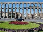 Segovia se encuentra a 75 km.