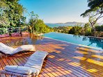 Relax at the pool with this gorgeous view!
