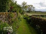Path to private garden