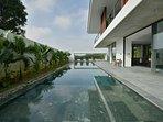 17m inground pool