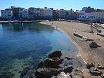 Old town beach (7 mins walk)