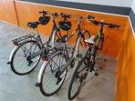 bicicletas a disposición del huésped