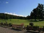 Close to Callander Golf Club.