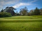 Moreton House - Southern lawns