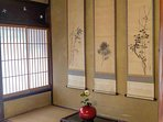 Sho chiku bai, the 3 Friends of Winter is encapsulated in the tokonoma