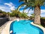 The amazing pool surroundings!