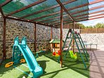 Outdoor children's playground is available for our younger guests.