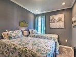 Kids will love this twin bedroom.