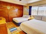 Queen and full beds in second bedroom!
