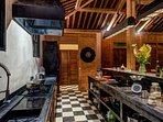 the ideal kitchen where staff will prepare you delicious meals
