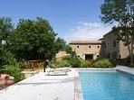 Grand gîte de groupe avec piscine dans la Drôme