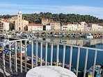 Our studio has one of the best views in Port-Vendres.
