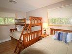 Main floor bunk bedroom