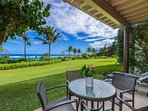 Relax on the Ground Floor Oceanfront Lanai