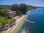 Overhead of Villas Del Playa