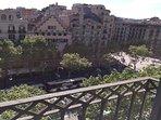 balcony day, city view