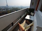 Balcony with the panoramic view