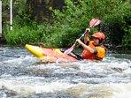 Bring your kayak and visit Matlock Bath