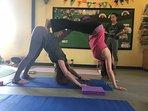 Have a private Yoga Lesson