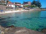 En la playa de sinás está ubicado uno de los mejores chiringuitos de Galicia y de España