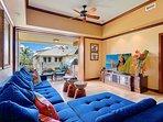 Great room to Lanai
