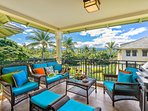 Breakfast, lunch, mid-day or whenever... in our lanai