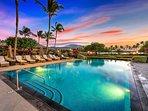 Sunset - Kolea pool