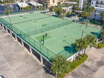 Tennis & Basketbacll court for your enjoyment!
