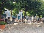 the square in Aubeterre