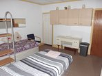 No 1 Bedroom Two Single Beds or a twin Bed layout can be arranged.