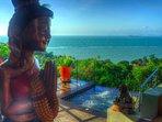 Breathtaking ocean views from Villa Emerald