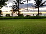 Sunrise from your lanai