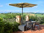 Stunning views from one of our terraces