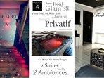 Appart Hôtel GLAM88, 2 Suites, 2 Styles, 2 Ambiances