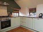 Escape the pressures of everyday life in the country charm of the kitchen