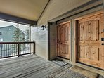 Front entrance to your Park City condo home