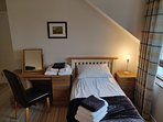 Bedroom 2: 1 x double and 1 x single bed