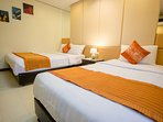 Bed room 3 have double bed and 1 single bed