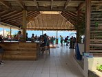 Brand new bar and grill at Sapphire Beach.
