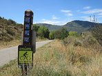 Property backs onto the scenic rail trail