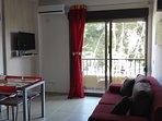 Dit appartement is klein maar erg leuk voor 2 personen, met balkon en airconditioning