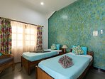 Spacious AC bedrooms villa with close proximity to the  beach