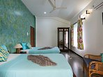 Spacious, modern and luxurious villas with swimming pool in Calangute for rent