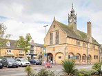 The impressive Redesdale Market Hall