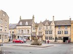 Stow's ancient stone cross in the market square